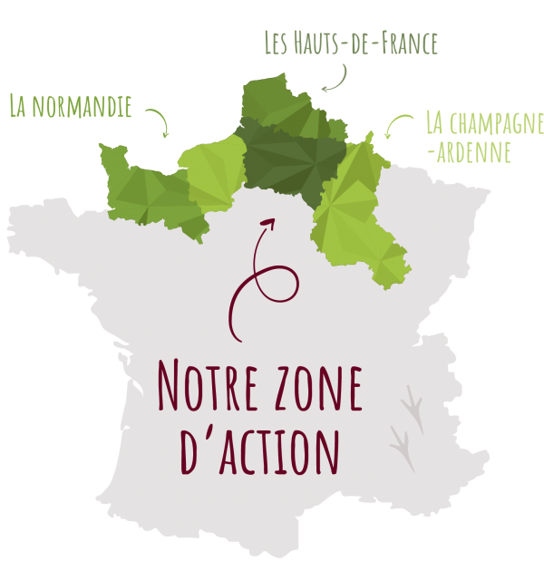 carte zone action poul haie arbres - agroforesterie